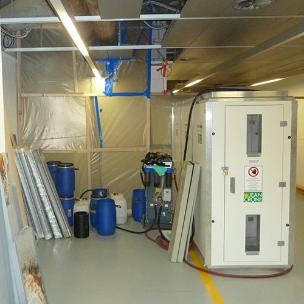 Asbestsanierung bei der Novartis Pharma AG