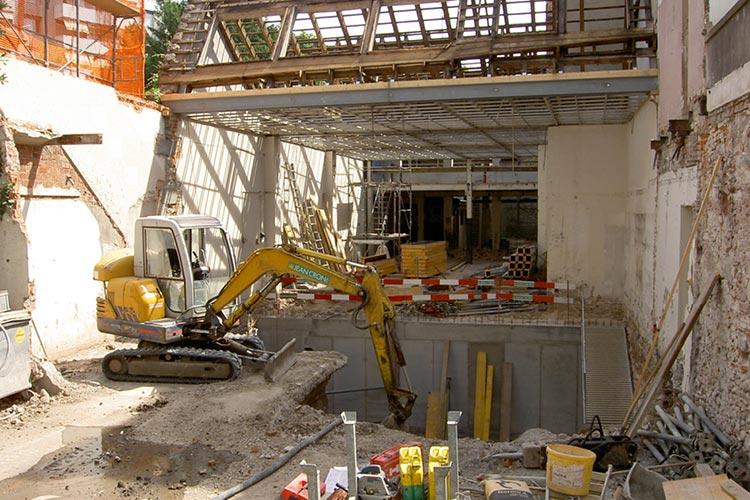 Umbau an der St. Alban Vorstadt 16 in Basel