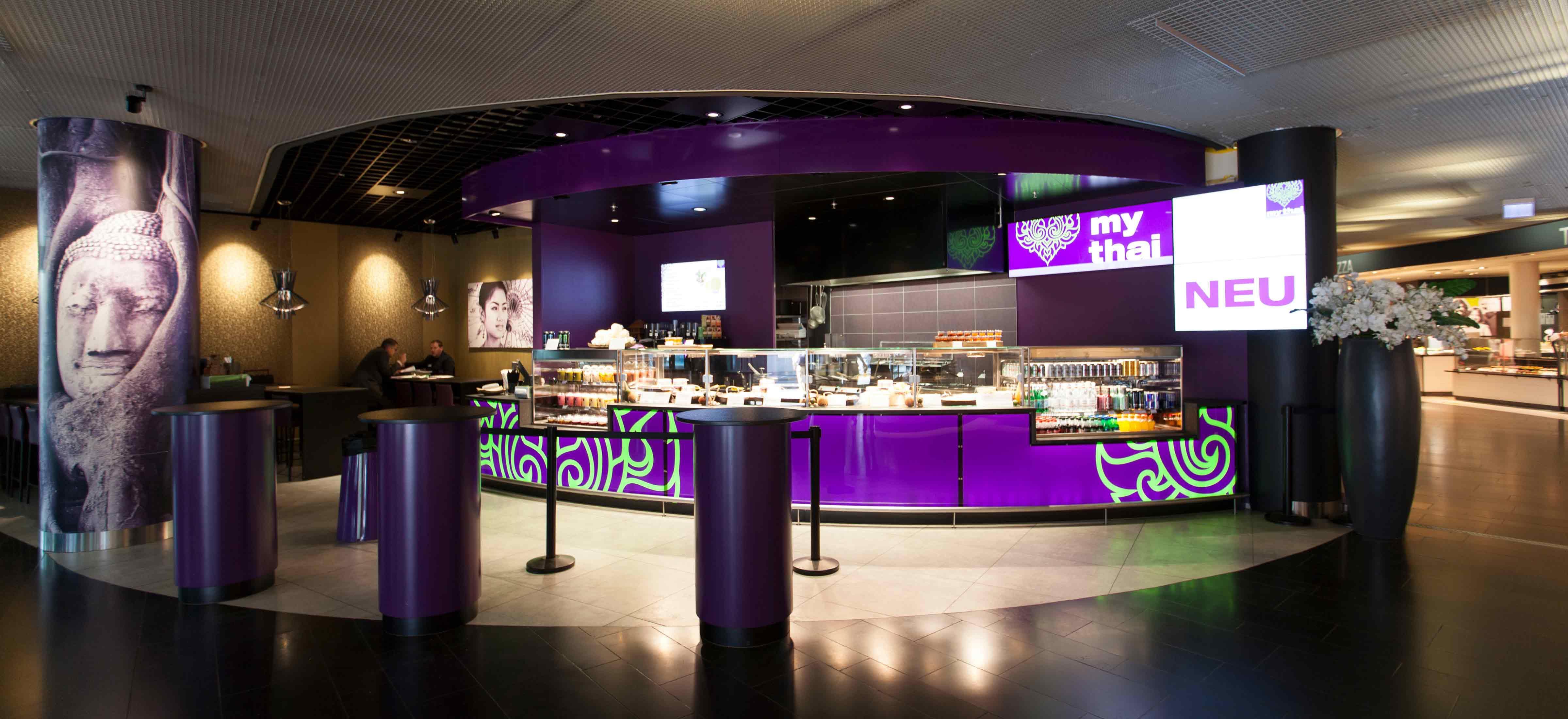 Umbau und EInbau My Thai Restaurant und Take-away in Basel