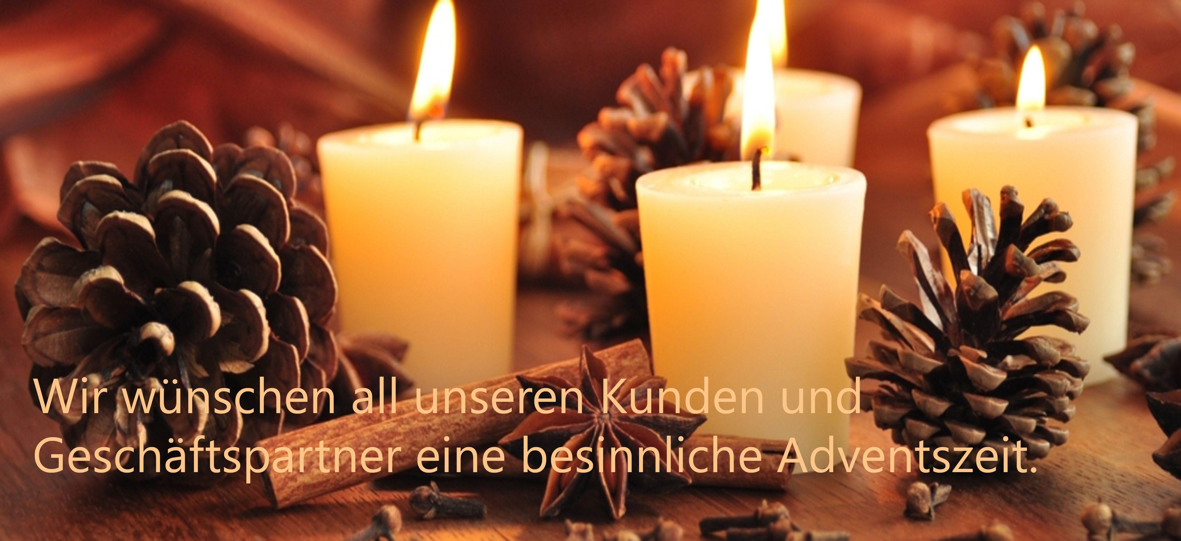 Jean Cron AG wünscht allen Kunden und Geschäftspartnern eine besinnliche Adventszeit